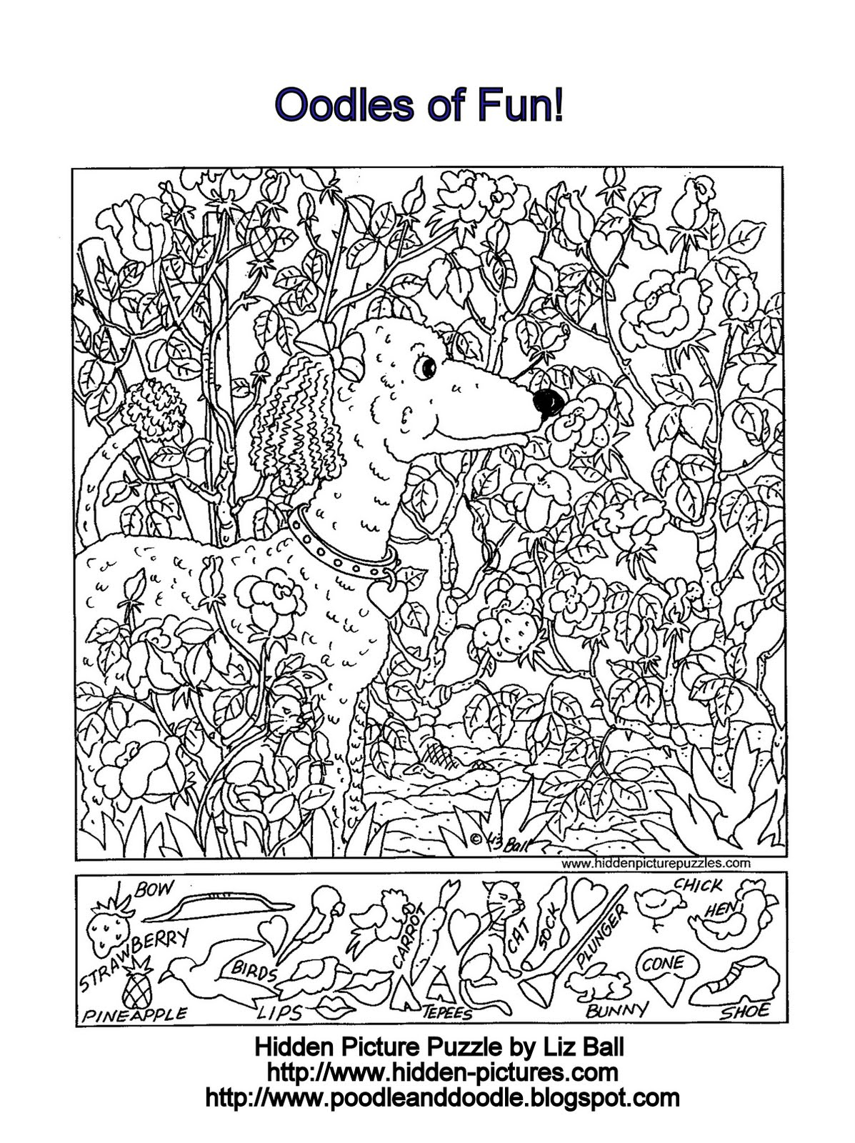 Free Printable Search And Find Puzzles