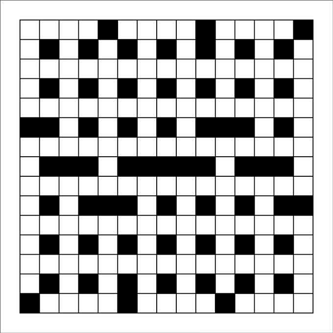 Printable Blank Crossword Puzzle Template
