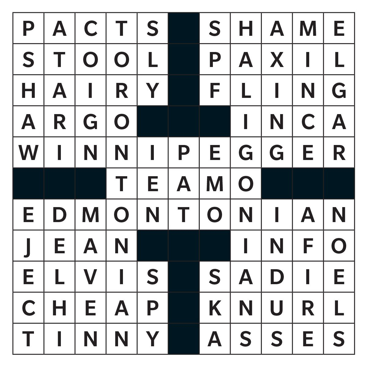 Reader's Digest Printable Crossword Puzzles