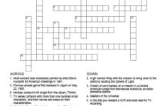 80 S Crossword Puzzle Free Printable AllFreePrintable