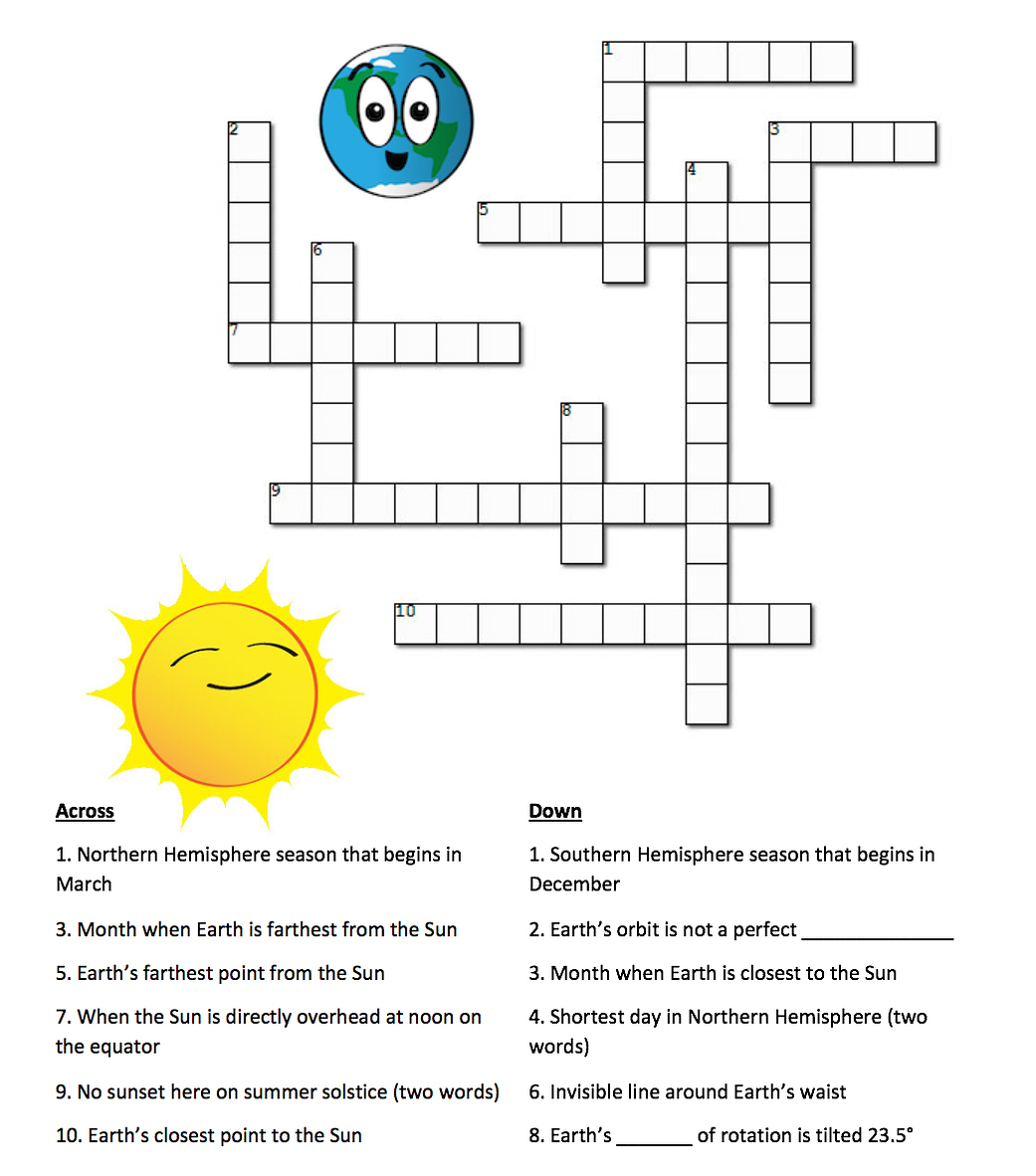 Sun Crossword Printable Version
