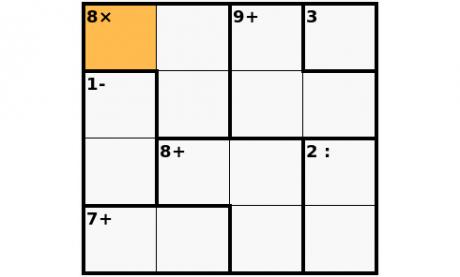 Calcudoku Puzzles Printable Free