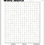 Books Of The Bible Word Search Bible Word Searches