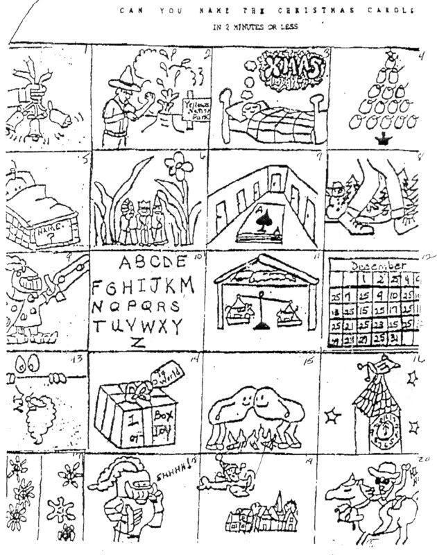 Free Printable Christmas Puzzles Brain Teasers