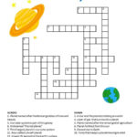 Crossword Puzzles For Kids Solar System For Kids Solar