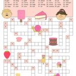 Crosswords Opposite Adjectives And Verbs Esl