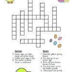 Easter Crossword Easter Crossword Easter Worksheets