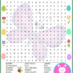 Easter Word Search Free Printable Thrifty Mommas Tips