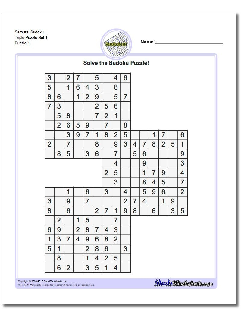 Free Printable Extreme Sudoku Puzzles