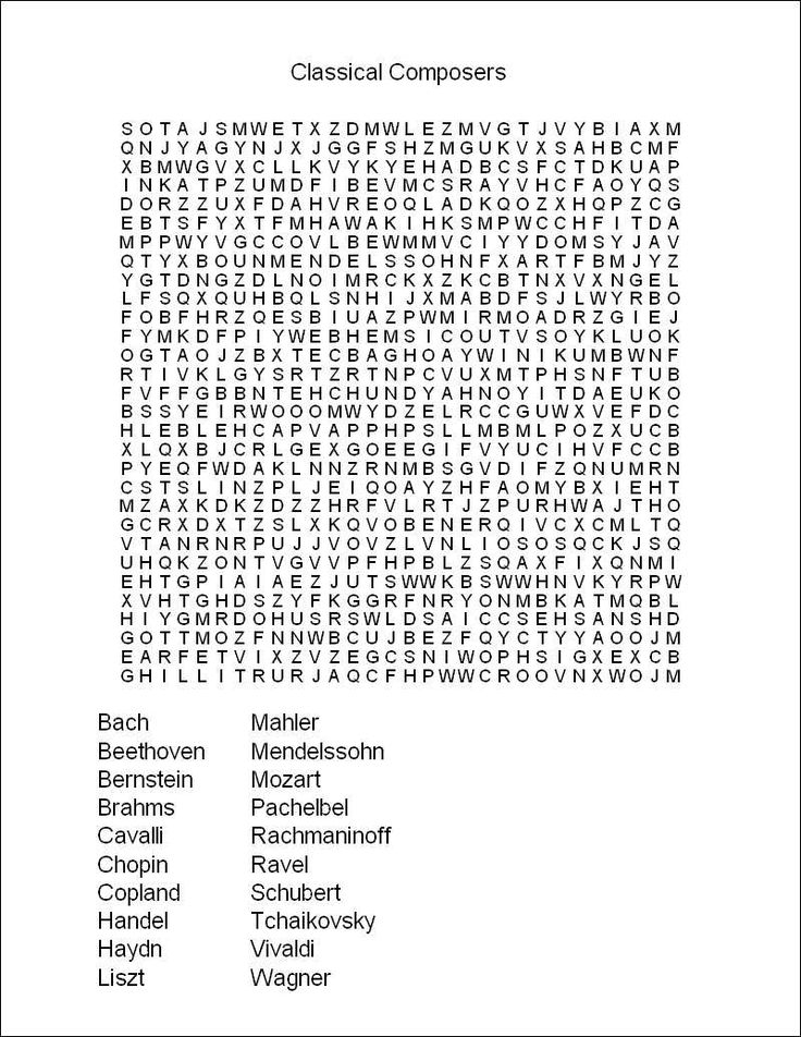 Free Printable Word Search Puzzles For Seniors