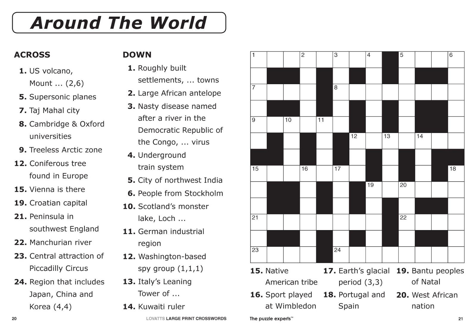 Make Your Own Printable Crossword Puzzle Online Free