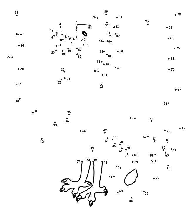 Free Dot To Dot Puzzles Printable