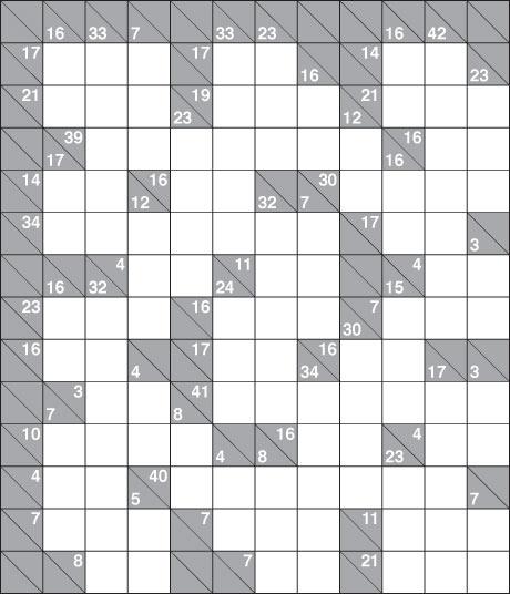 Free Printable Kakuro Puzzles Online