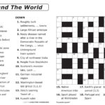 Number Fill In Puzzles Free Printable Crossword Puzzles