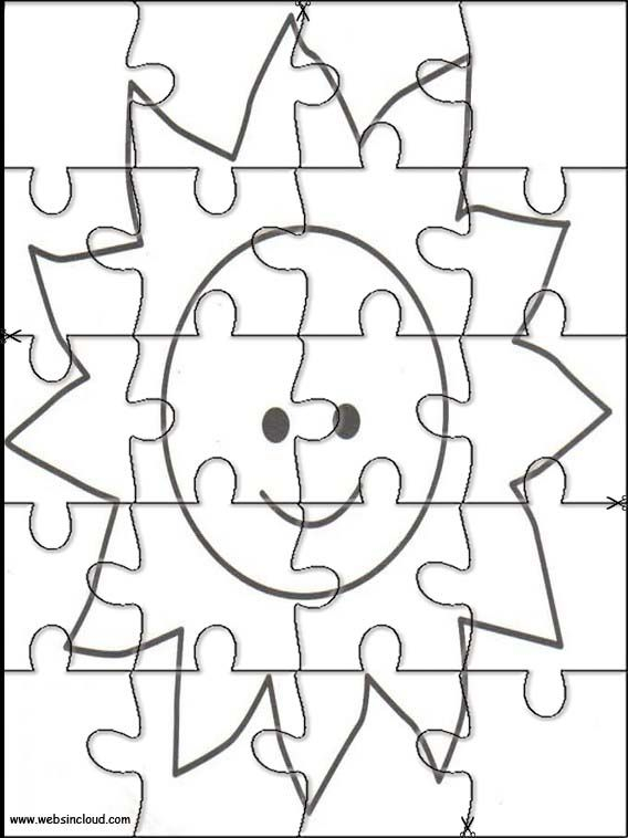 Free Printable Color Puzzles
