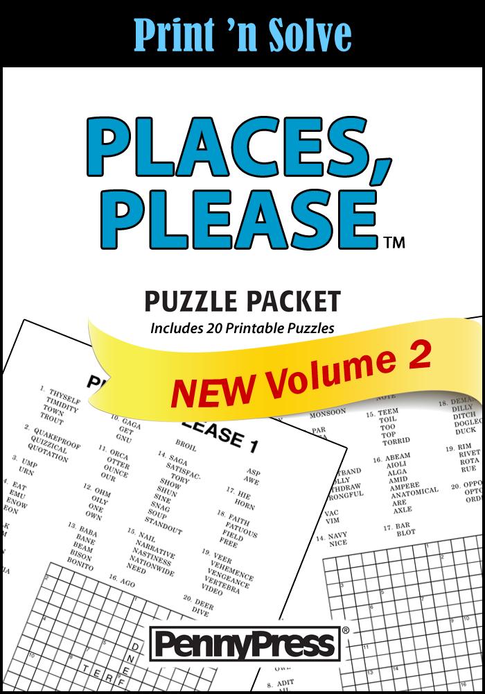 Free Printable Places Please Puzzles