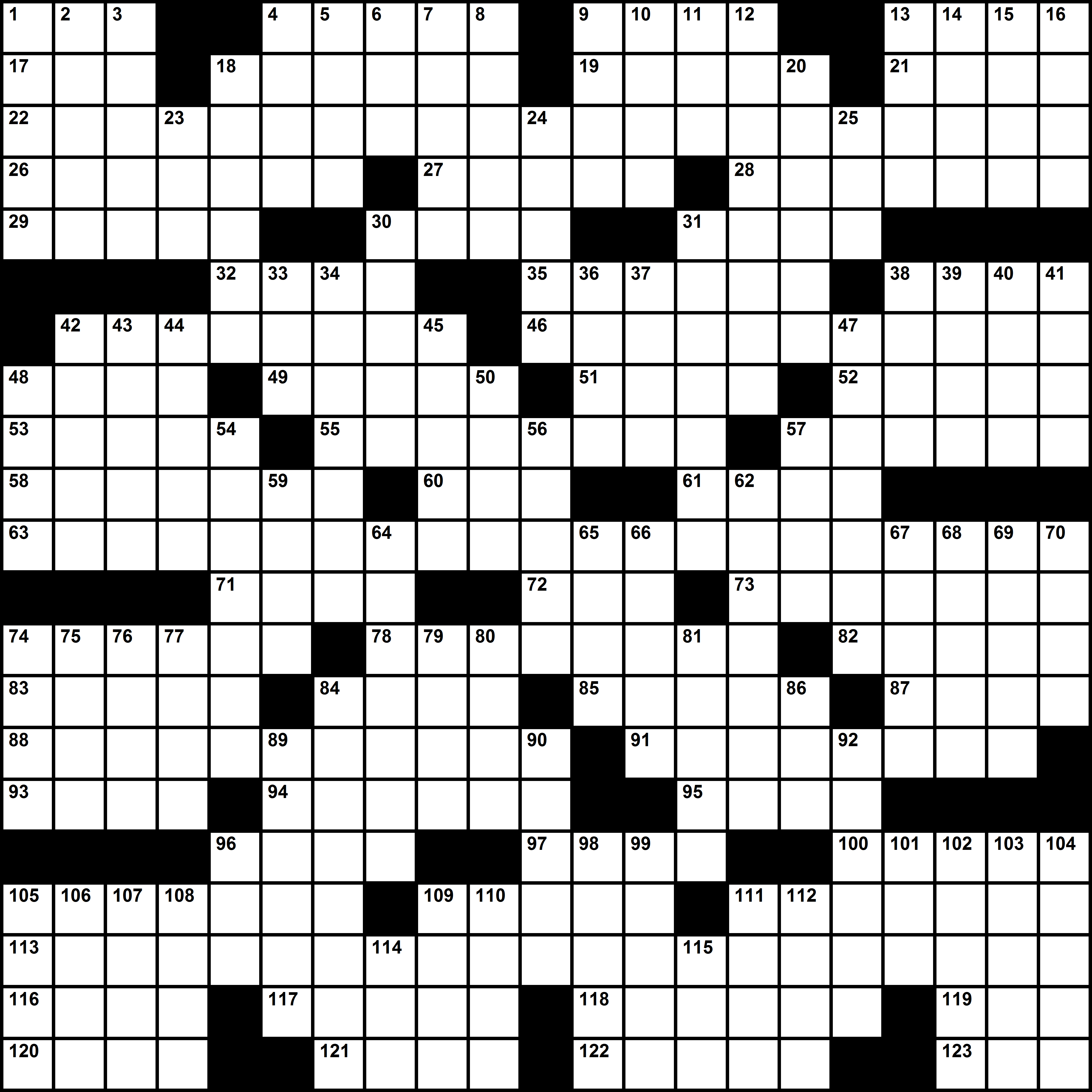 Free Printable Crosswords By Timothy Parker