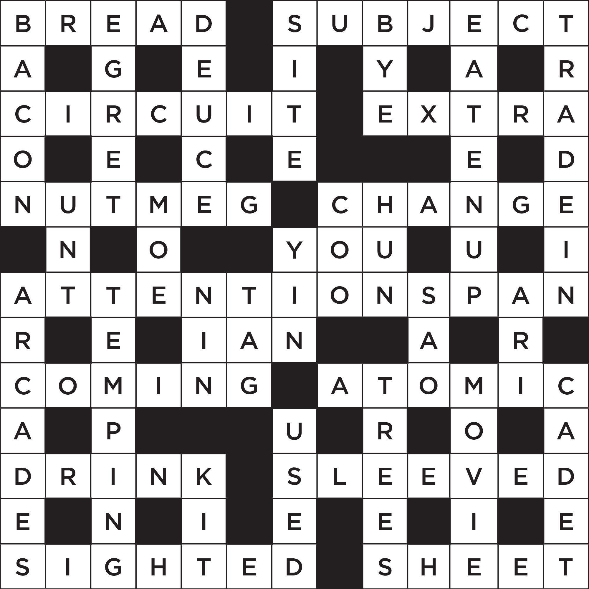 Printable Jonesin Crossword