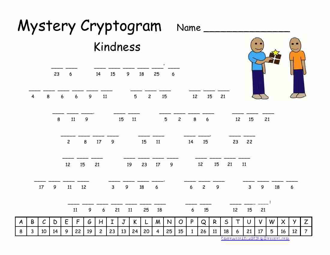Cryptograms Printable Free Puzzles