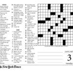 Printable La Times Crossword 2019 Printable Crossword