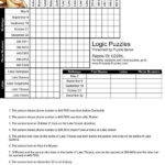 Printable Logic Puzzles Carisoprodolpharm For Free