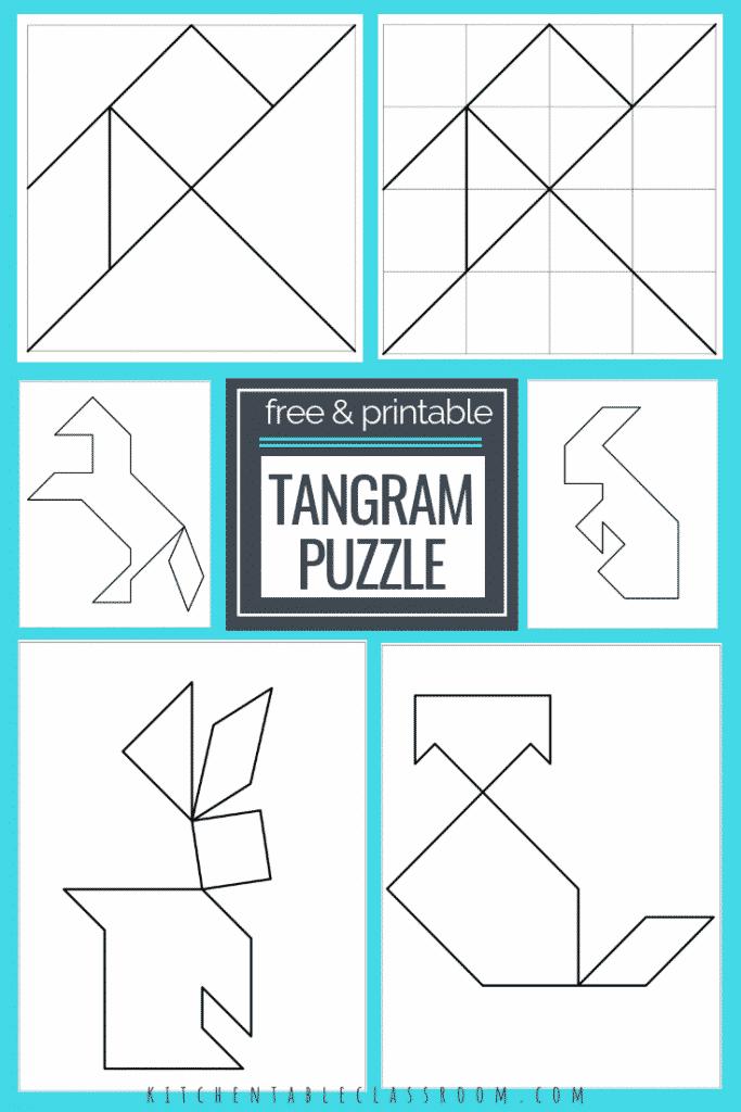 Printable Tangrams Puzzles Pdf Free