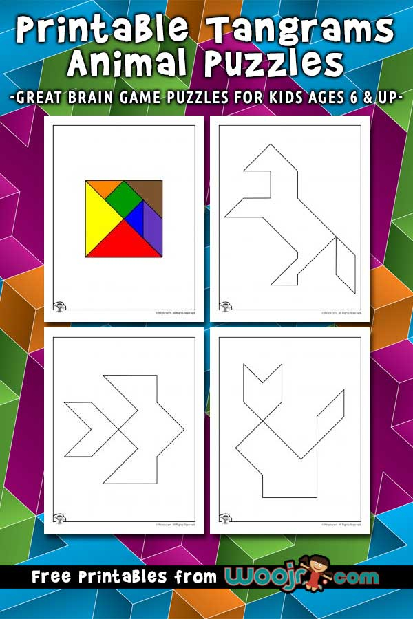 Free Printable Tangram Puzzles