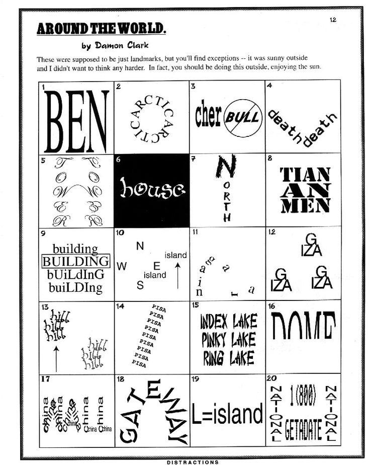 Rebus Puzzles Worksheets Free Printable
