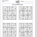 Very Hard Sudoku Puzzle To Print 5 Printable Sudoku