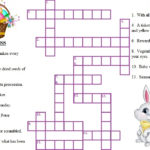 12 Challenging Easter Crossword Puzzles KittyBabyLove