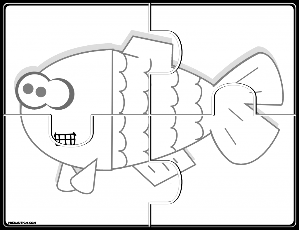 Printable Animal Jigsaw Puzzles For Preschoolers