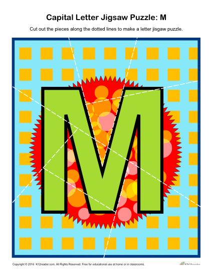 Printable Jigsaw Puzzles For Middle School