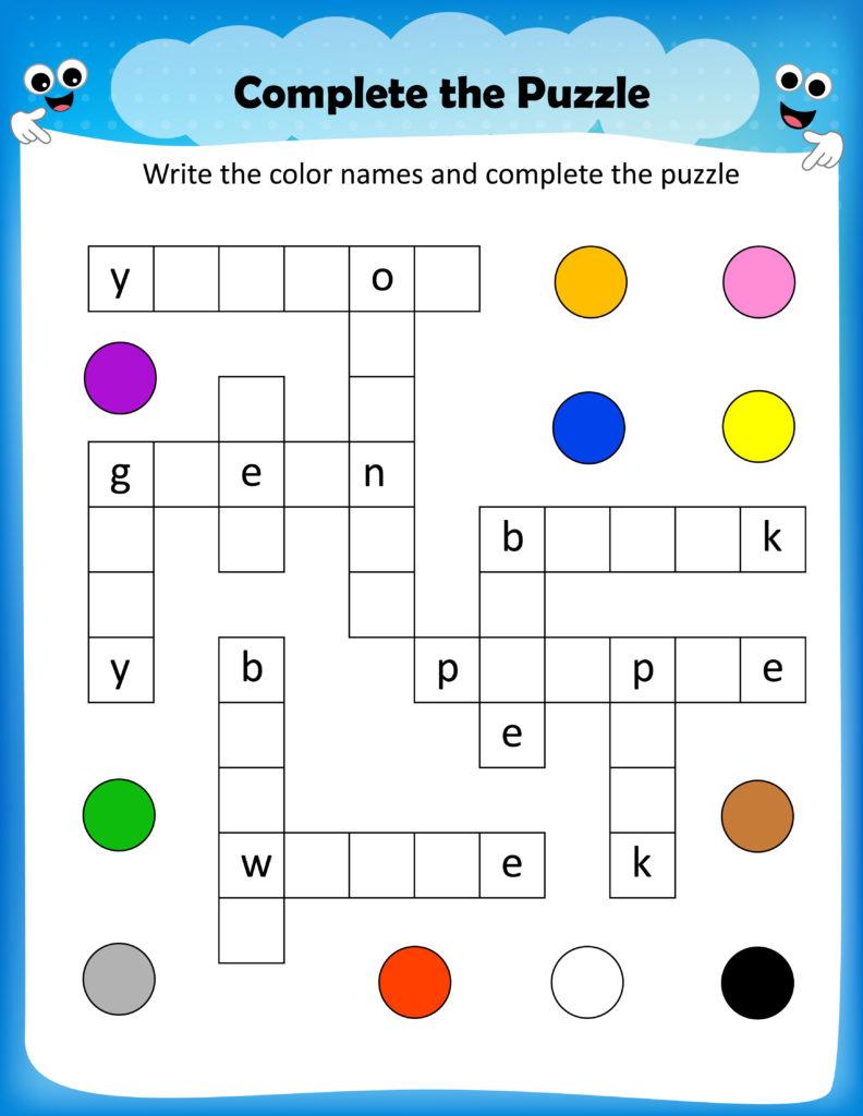 Fifth Grade Crossword Puzzles Printable Orek Free