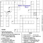 Free Bible Christian Family Crossword Puzzle Bible