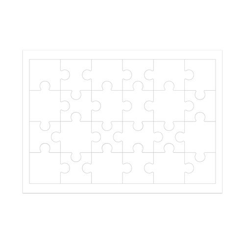 Inkjet Printable Jigsaw Puzzles