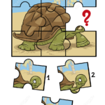 Jigsaw Puzzle With Turtle Free Printable Puzzle Games