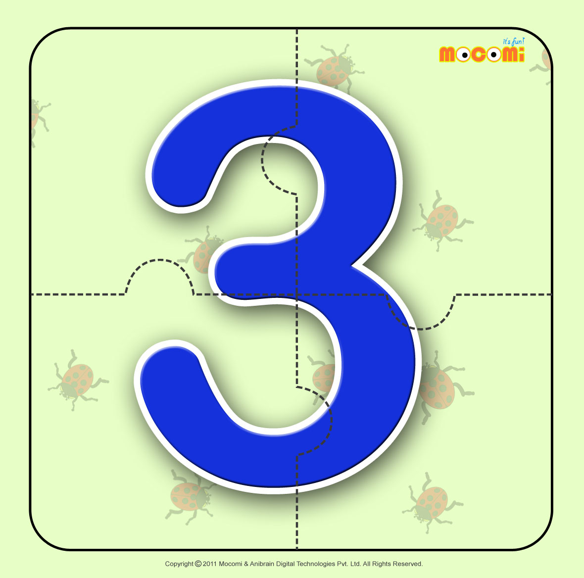 Numbers Jigsaw Puzzles Printable