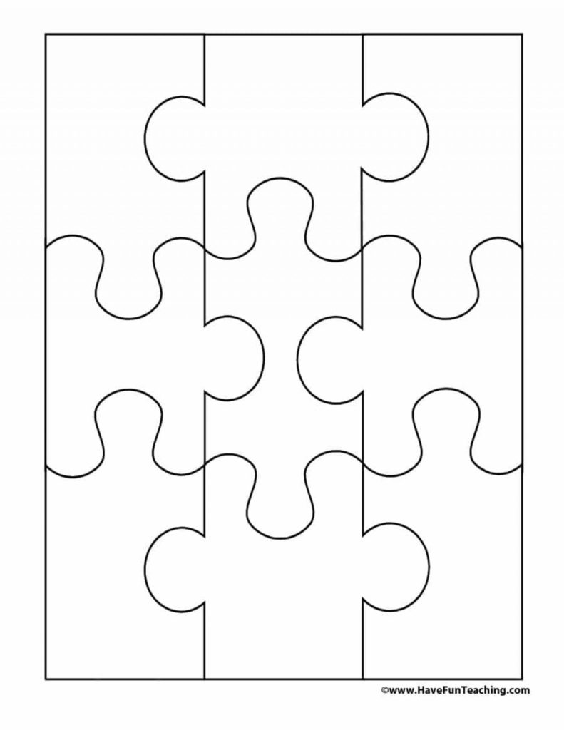 Printable Jigsaw Puzzle Pieces Printable Crossword Puzzles