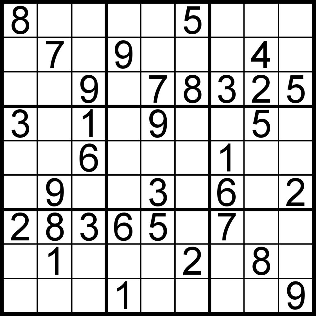 Printable Sudoku Puzzles 16X16 Free Printable Crossword