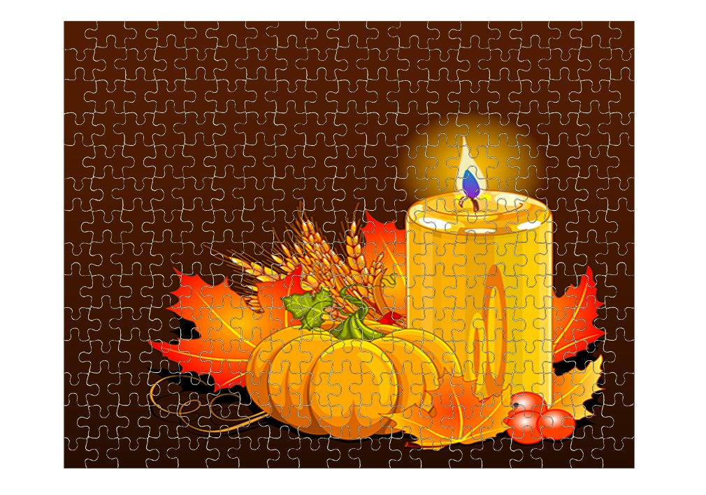 Printable Thanksgiving Jigsaw Puzzles