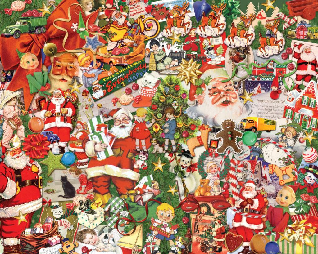 Vintage Christmas 1000 Pieces Vermont Christmas Company