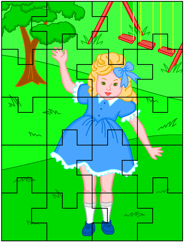 Easy Printable Jigsaw Puzzles