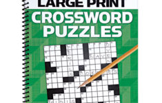 AARP Large Print Crossword Puzzles Word Puzzle Book