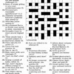 Cryptic Crossword April 2019 TLMB