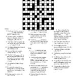 Free Printable Easter Crossword Puzzles For Adults