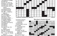 Kansas City Star Crossword Printable Printable Template Free
