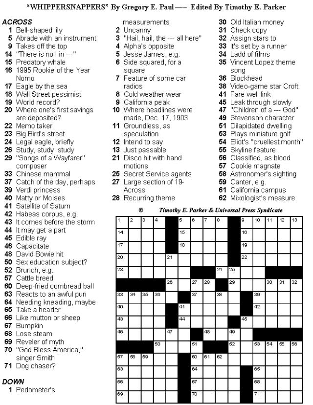 Medium Hard Crossword Puzzles Printable