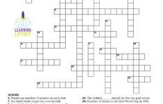 Printable Crossword Puzzles 5Th Grade Printable