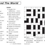 Printable Crossword Puzzles Easy Pdf Printable Crossword