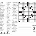 Printable Crossword Puzzles New York Times Printable